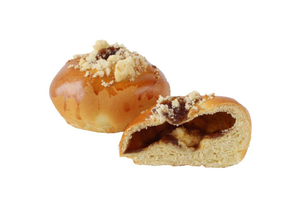 Moravský koláč s hruškovými povidly