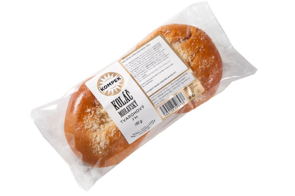 Moravský koláč tvarohový 2 ks bal.